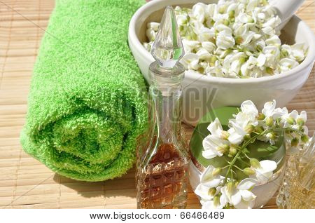 Flowers Acacia For Spa Procedures