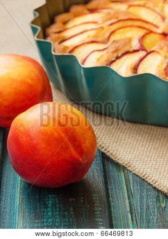 Nectarine And Pastries