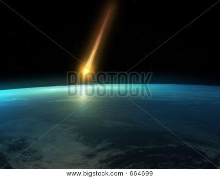 Meteor-Auswirkungen
