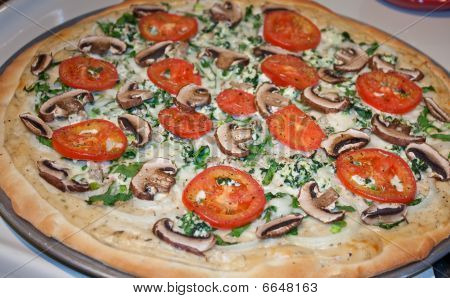 Delicious Pizza Fresh From the Oven