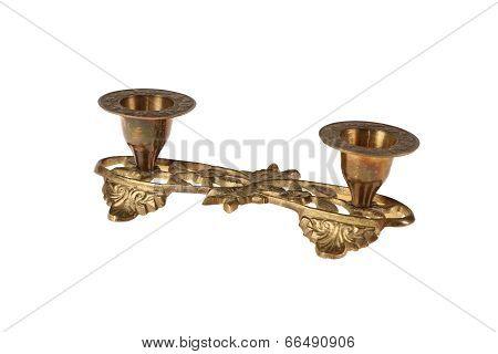 Gilt Bronze Candlestick