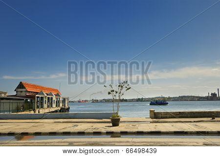 Havana Harbour Detail