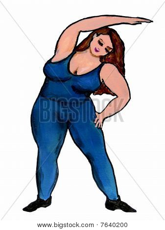 Plus Size Stretching