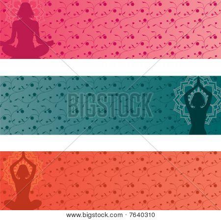 Yoga Banners