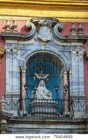 Episcopal Palace, Malaga, Spain