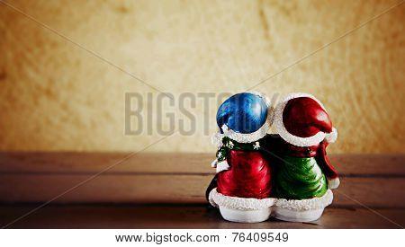 Snowman enjoy the Christmas