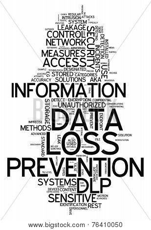 Word Cloud Data Loss Prevention