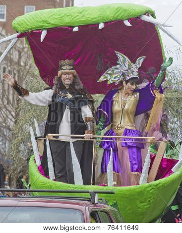 Mardi Gras King And Queen Of Misrule
