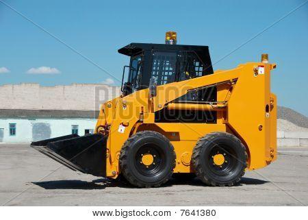Skid Steer Loader Construction Machine