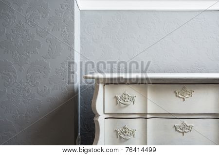 Close-up Of Sideboard