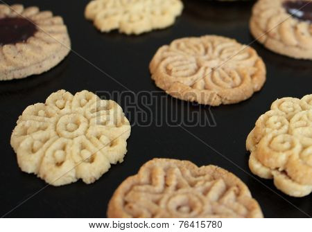 Cookies on a Table