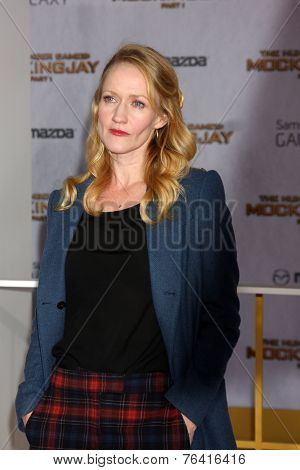 m LOS ANGELES - NOV 17:  Paula Malcomson at the The Hunger Games: Mockingjay Part 1 Premiere at the Nokia Theater on November 17, 2014 in Los Angeles, CA