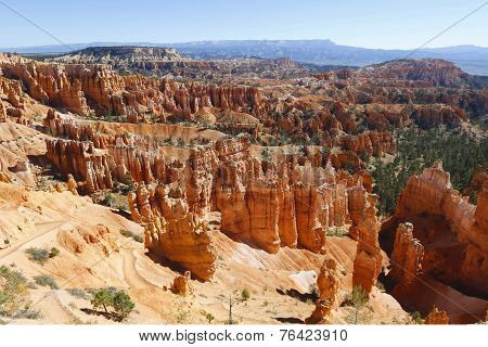 The Bryce Amphitheater in Bryce Canyon National Park, Utah