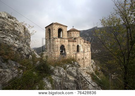 Beautiful Church In The Woods In Bulgaria