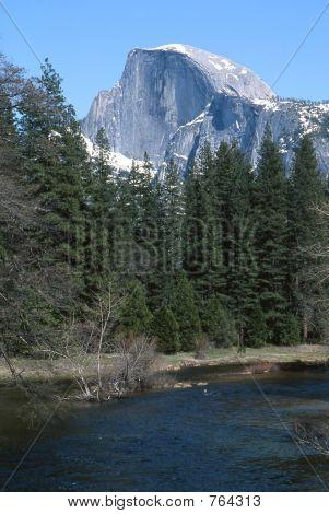 Half Dome from Sentinal Bridge, Yosemite National Park