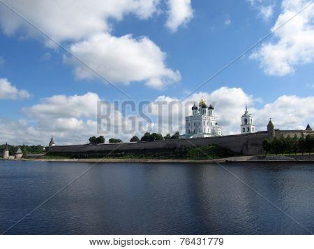 Pskov Kremlin. Russia