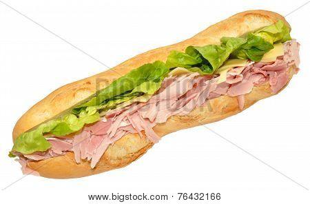 Gammon Ham Sandwich Baguette