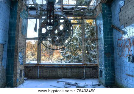 Old Operating Room In Beelitz