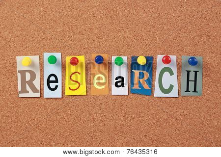 Research Single Word