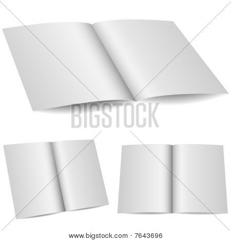 Blank opened folder