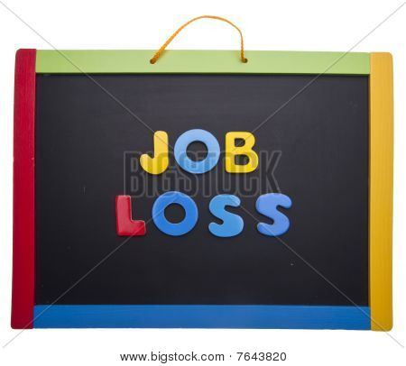 Lesson On Job Loss