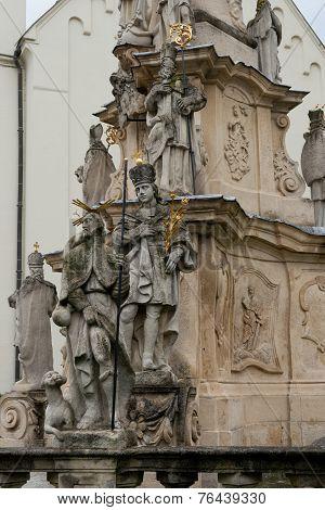 Holy Column In Veszprem