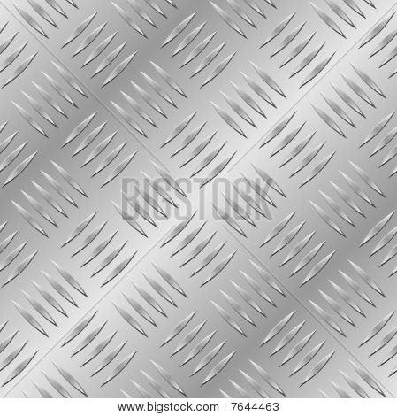 Chapa de diamante transparente