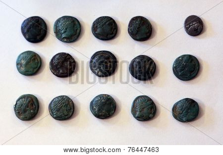 Centuries Old Coins