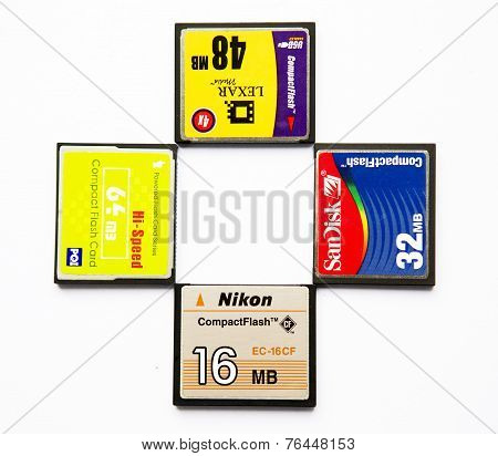 Compact Flash Memory Cards