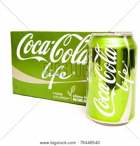 Coca Cola Life 6-pack And Can
