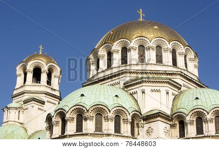 Alexander Nevsky Cathedral In Sofia, Bulgaria