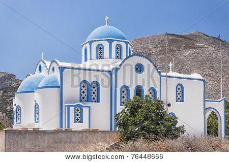 Kamari Church On A Hill