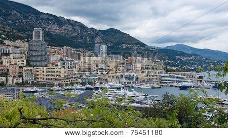 The Port Of Montecarlo