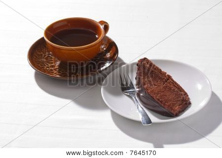 Home-baked Chocolate Cake