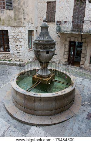 Fountain In Saint Paul De Vence