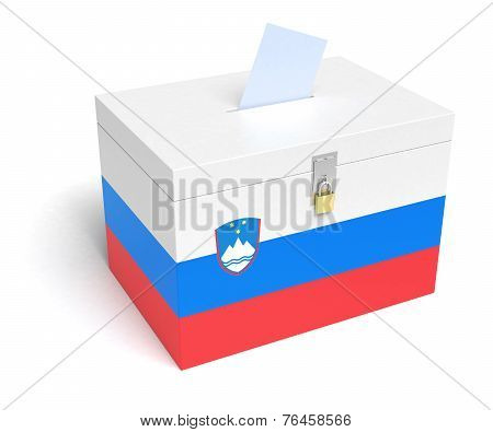 Slovene Flag Ballot Box