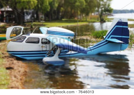 Miniature Toy SeeBee Seaplane