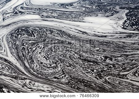 Water With Swirly Patterns
