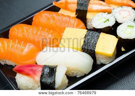 Sushi in box