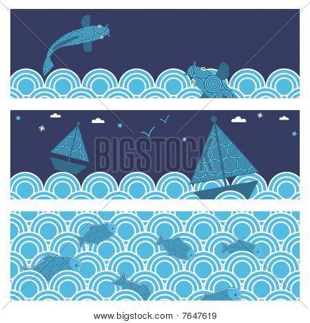 ocean banners