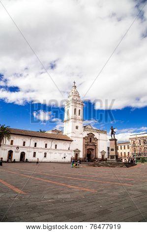 Plaza de Santo Domingo Quito Ecuador South America