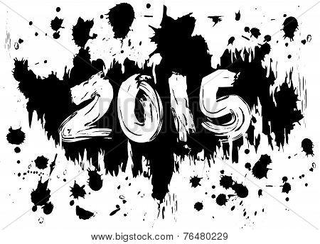 2015 Ink Splatters