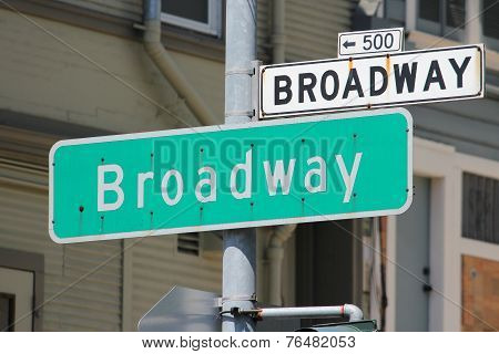 Broadway, San Francisco
