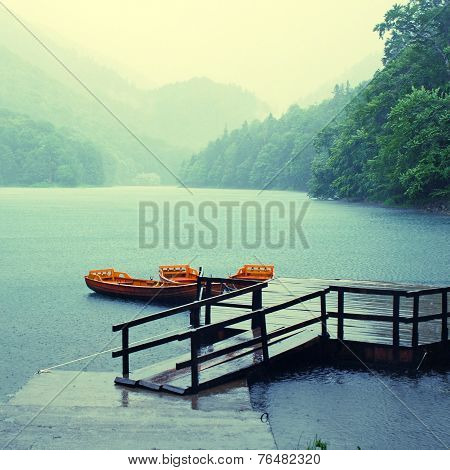 Rain On The Lake