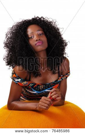 Young Attractive Skinny African American Teen Woman