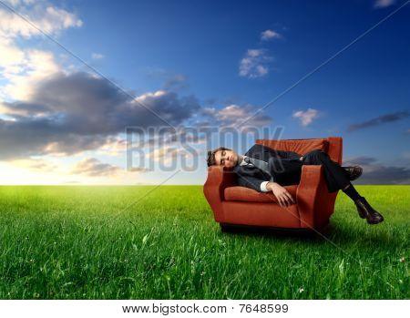 Sleep in the nature
