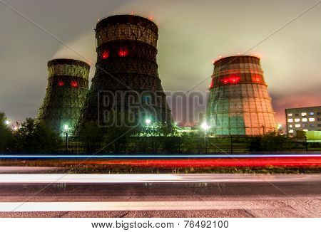 Cooling Towers Cogeneration - Khabarovsk, Russia