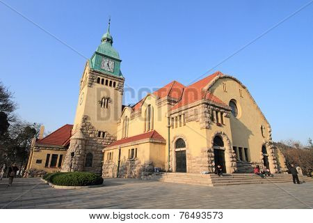 Qingdao Protestant Church, China