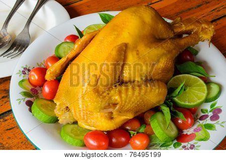 Roast Turmeric Turkey