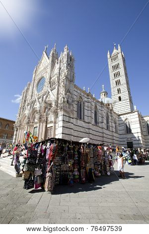 SIENA, ITALY ON AUGUST 27